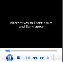 Alternatives to Bankruptcy & Foreclosure