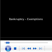 Bankruptcy - Exemptions